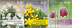 Croatia - 2020 Croatian Flora, Set of 3 (MNH)