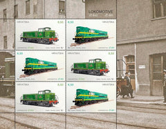 Croatia - 2020 Locomotives M/S (MNH)