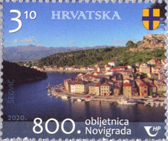 Croatia - 2020 Novigrad, 800 Years (MNH)