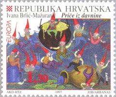 #325-325 Croatia - 1997 Europa: Tales and Legends (MNH)