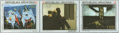 #159-161 Croatia - 1993 Europa: Contemporary Art (MNH)