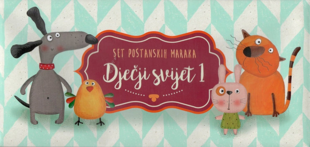 Croatia - 2012-2015, Children's World: Pets I, Limited Edition Booklet (MNH)