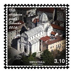 #1006 Croatia - Sibenik, 950th Anniv. (MNH)