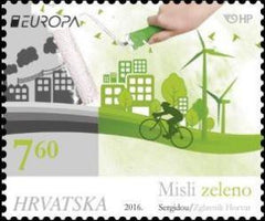 #994 Croatia - 2016 Europa: Think Green (MNH)