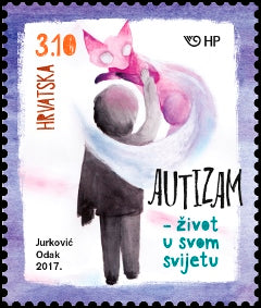 #1046 Croatia - Autism Awareness (MNH)