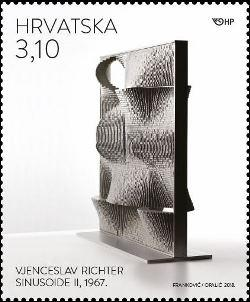 #1096-1098 Croatia - Architecture and Designs By Vjenceslav Richter, Set of 3 (MNH)