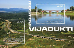 Croatia - 2019 Bridges and Viaducts S/S (Pre-Order) (MNH)