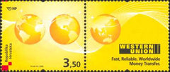 #694 Croatia - Western Union (MNH)