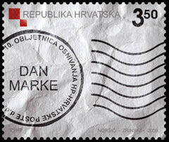 #738 Croatia - 2009 Stamp Day (MNH)
