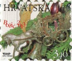 #892 Croatia - 2013 Christmas, Self-Adhesive (MNH)