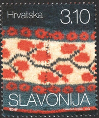 #925-928 Croatia - Details from Traditional Costumes (MNH)
