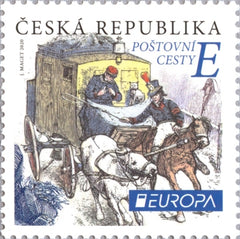 Czech Republic - 2020 Europa: Ancient Postal Routes (MNH)
