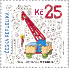 #3641 Czech Republic - 2015 Europa: Old Toys (MNH)