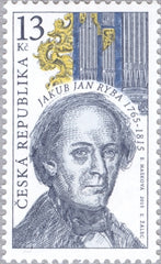 #3652 Czech Republic - Organ and Jakub Jan Ryba, Composer (MNH)