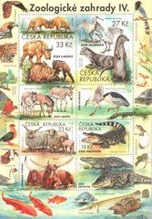 #3802 Czech Republic - 2019 Zoological Gardens IV M/S (MNH)