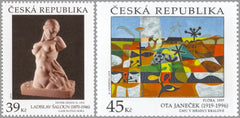 #3810-3811 Czech Republic - Art Type of 1967, Set of 2 (MNH)