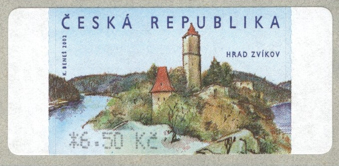 Czech Republic - 2002 Zvíkov Castle, Definitive Stamp (MNH)