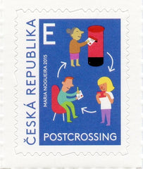 #3648 Czech Republic - Postcrossing (MNH)