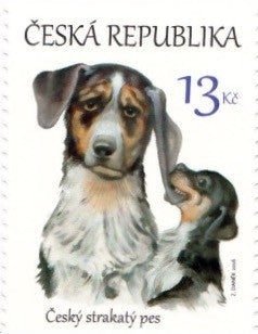 #3662 Czech Republic - 2016 Czech Spotted Dog, Single (MNH)