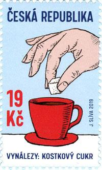 Czech Republic - 2019 Inventions: Sugar Cube (MNH)