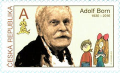 Czech Republic - 2019 Tradition of Czech Stamp Design: Adolf Born (MNH)