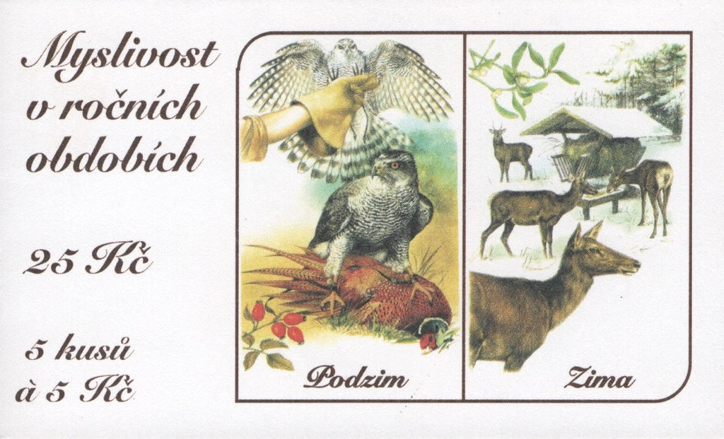 #3131 Czech Republic - Hunting, Booklet (MNH)