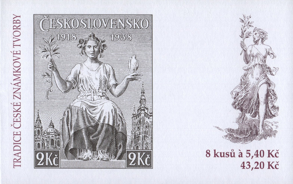 #3163a Czech Republic - 2002 Tradition of Czech Stamp Production, Booklet (MNH)