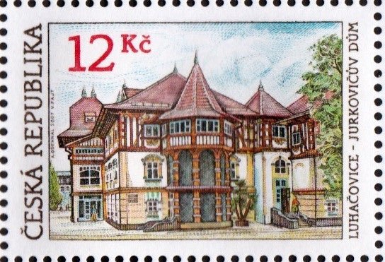 #3342-3343 Czech Republic - Spas, Set of 2 (MNH)
