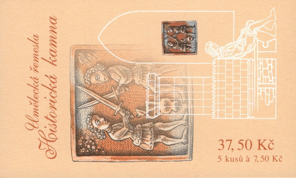 #3349 Czech Republic - Historic Stoves, Complete Booklet (MNH)