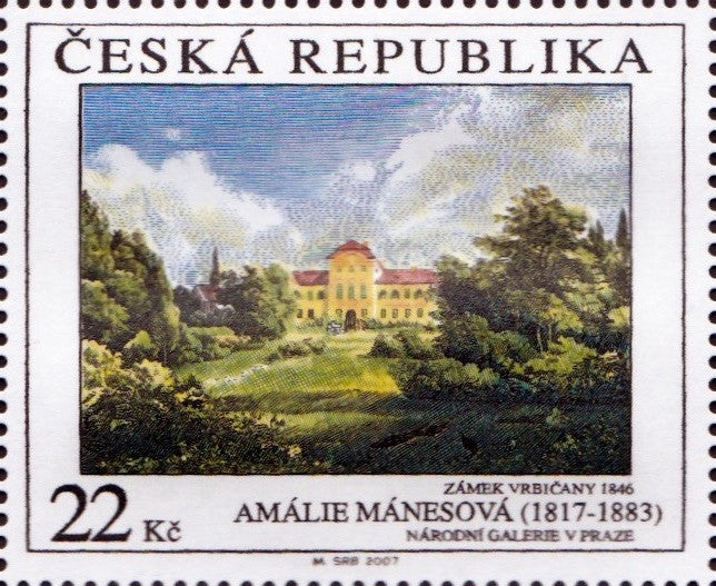 #3359-3361 Czech Republic - Painting Type of 1967, Set of 3 (MNH)