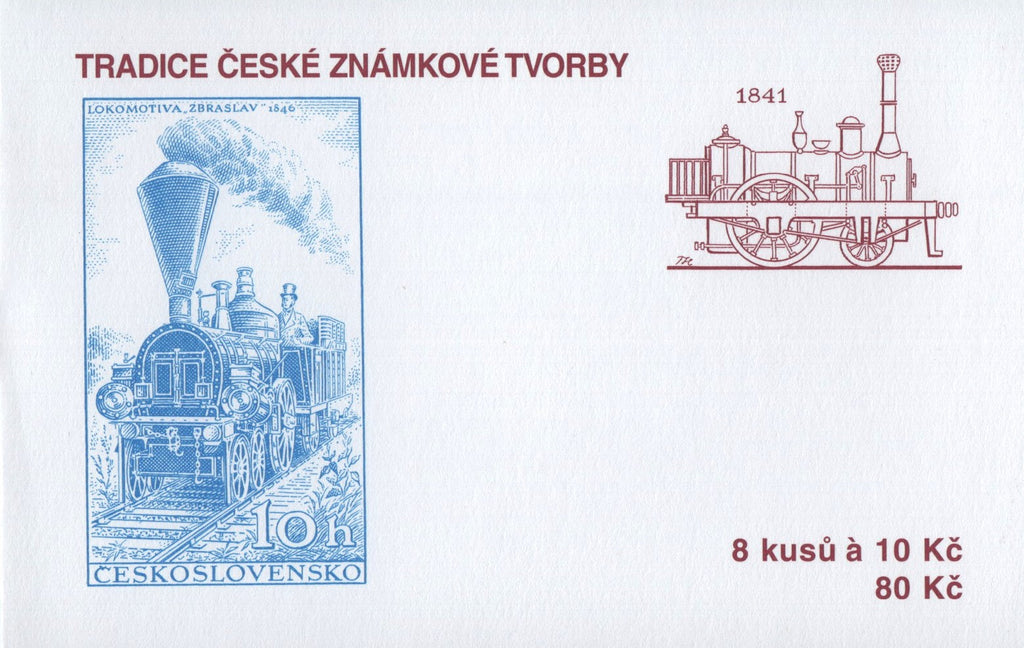 #3369a Czech Republic - 2008 Tradition of Czech Stamp Production, Booklet (MNH)