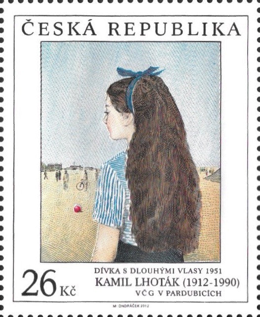 #3552-3553 Czech Republic - Art Type of 1967, Set of 2 (MNH)