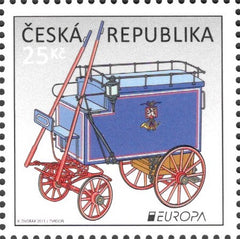 #3567 Czech Republic - 2013 Europa: The Postman Van (MNH)