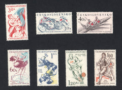 #1023-1029 Czechoslovakia - Sports Events (MNH)