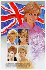 #2010 Dominica - Diana, Princess of Wales, Sheet of 4 (MNH)