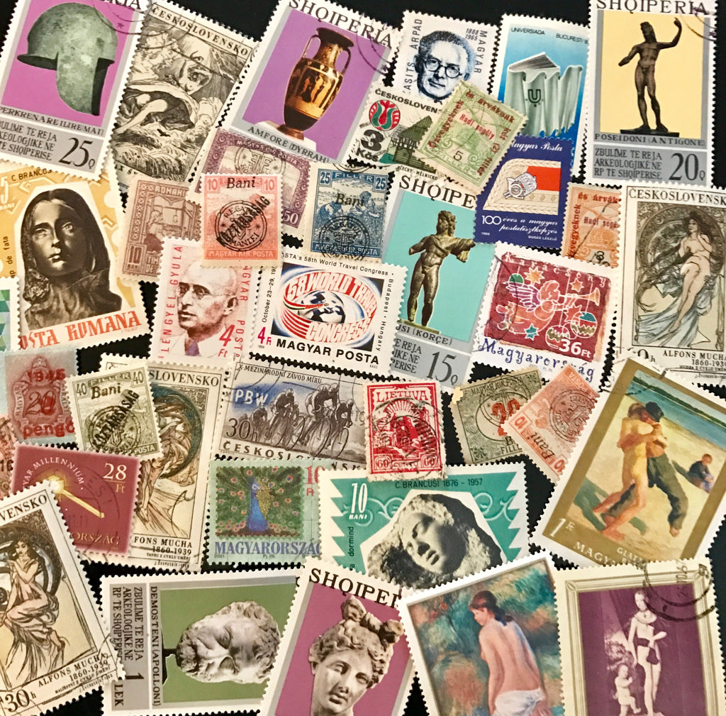 Eastern Europe Stamp Packet (50 Different Stamps) (MNH, MLH, Used)