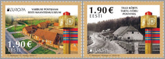 Estonia - 2020 Europa: Ancient Postal Routes, Set of 2 (MNH)