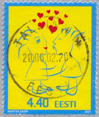 #409 Estonia - Valentine's Day (Used)
