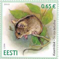 #823 Estonia - 2016 Northern Birch Mouse (MNH)
