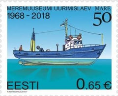 #864 Estonia - Research Vessel Mare (MNH)