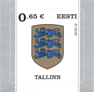 #869 Estonia - Arms of Tallinn (MNH)