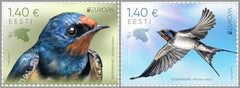 #893-894 Estonia - 2019 Europa: National Birds (MNH)