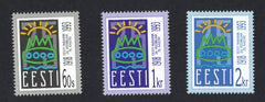 #238-240 Estonia - First Republic, 75th Anniv. (MNH)