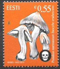#768 Estonia - Inocybe Erubescens (Mushrooms) (MNH)