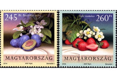 #4322-4323 Hungary - Fruit and Blossoms Type of 2011 (MNH)