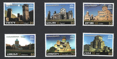 #356-361 Georgia - UNESCO Heritage Sites (MNH)