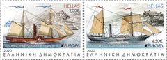 Greece - 2020 Europa: Ancient Postal Routes, Pair (Pre-Order) (MNH)