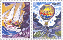 #2110 Greece - 2004 Europa: Holidays, Pair (MNH)