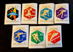#1301-1306 Hungary - 8th Olympic Winter Games (MNH)