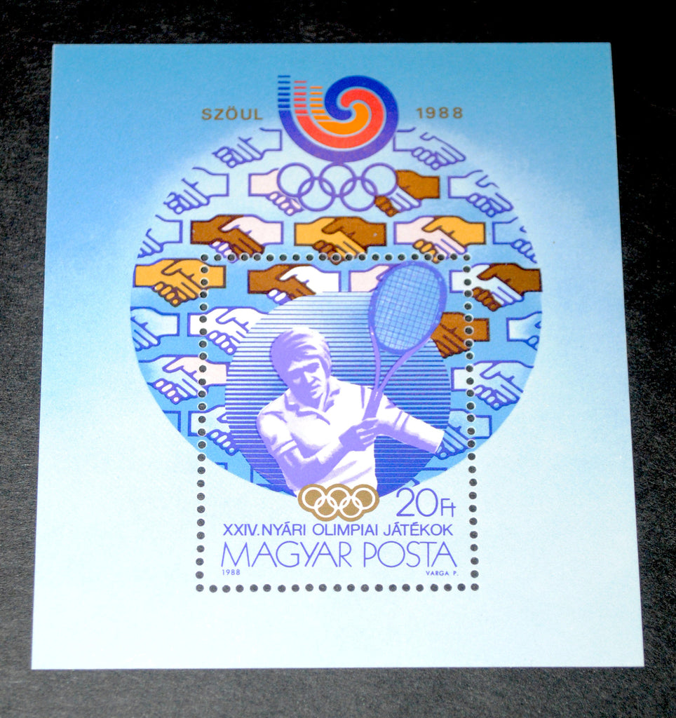 #3127 Hungary - 1988 Summer Olympics, Perf. S/S (MNH)